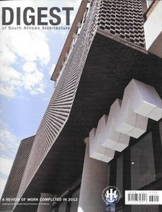 Amanda Katz Architects - Digest of South African Architecture 2012
