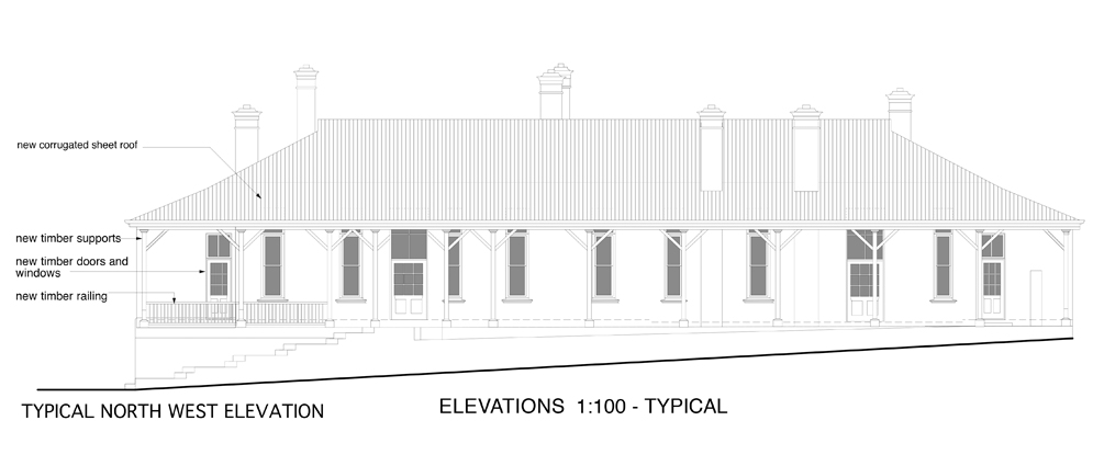 Lines Drawing Naval Architecture : Conversion of heritage building amanda katz architects